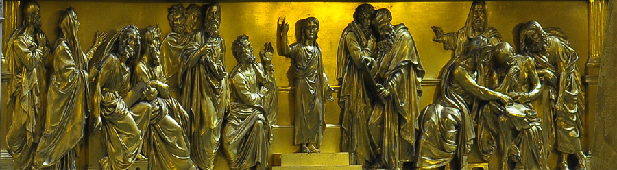 Jésus et les docteurs de la Loi. Choiselat.