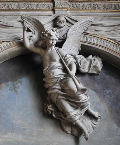 Ange à la trompette. Gaspard Collignon