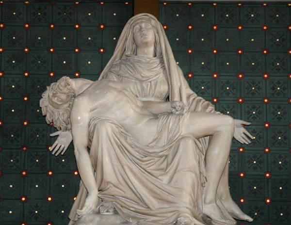 Pieta. Jean Pierre Cortot.