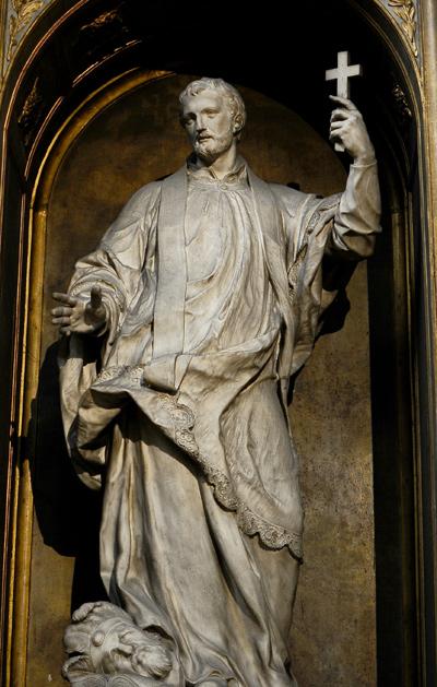 Saint François Xavier. Guillaume 1er Coustou.
