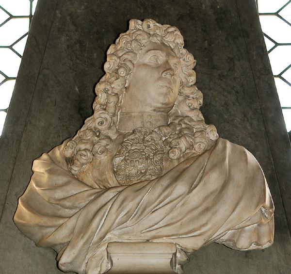 Buste de Le Brun. Antoine Coysevox.