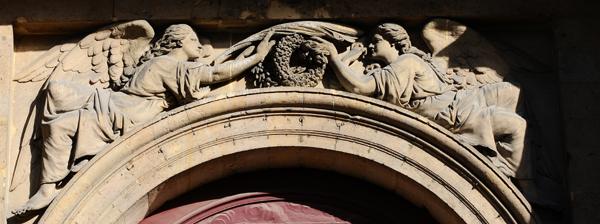 Anges avec Palmes et Couronnes. Louis Joseph Daumas