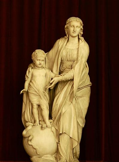 Vierge à l'Enfant. François Delaistre.