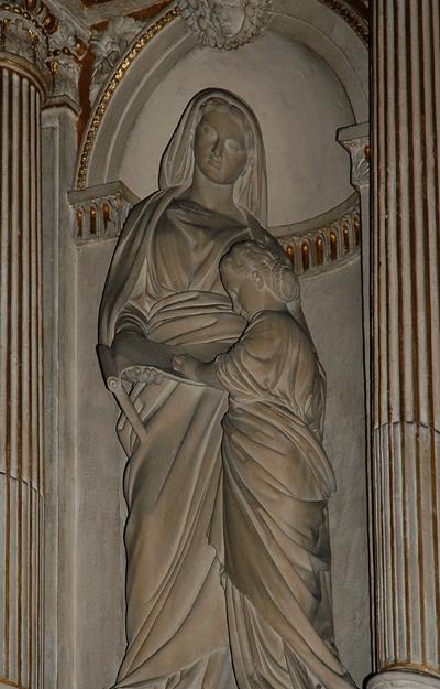 L'Education de la Vierge. Pierre Delorme.