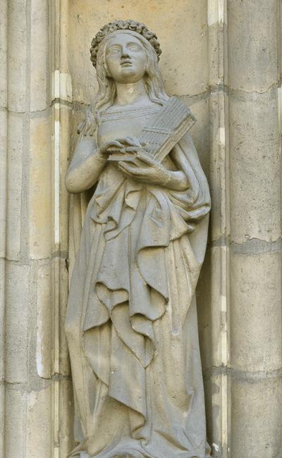 Sainte Cécile. Louis Desprez.