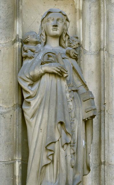 Sainte Geneviève. Louis Desprez.
