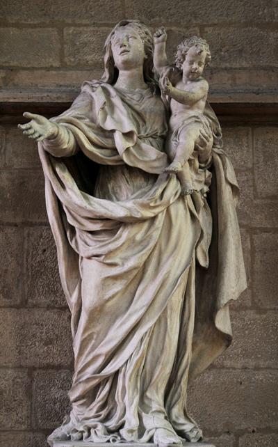 La Vierge et l'Enfant. Jean Dubois.