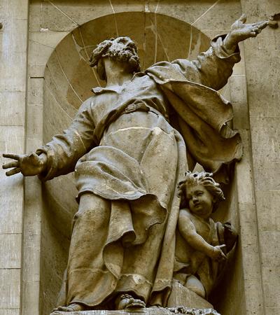 Saint Pierre. François Dumont.