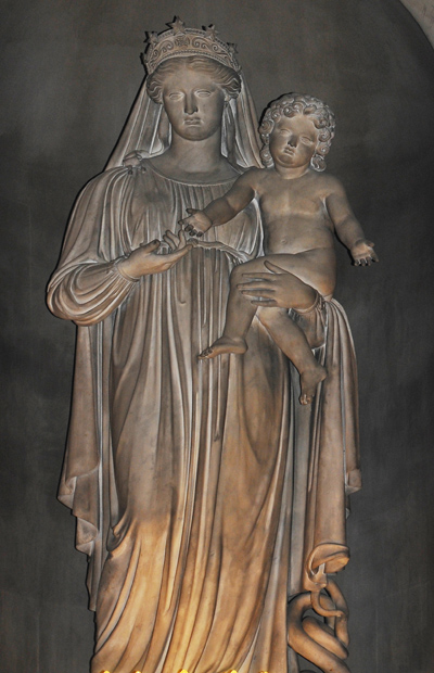 Vierge à l'Enfant. Louis Dupaty.