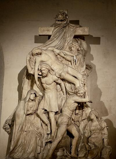 Le Descente de la Croix. Edme Etienne François Gois