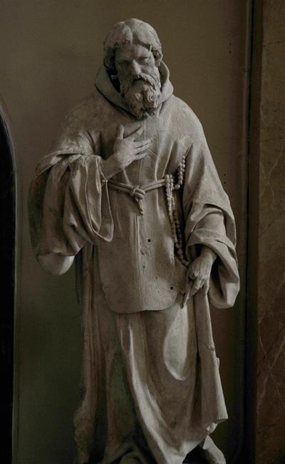 Saint François de Paule. Gilles Guérin.