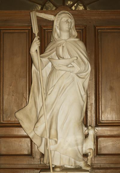 Sainte Geneviève. Eugène Guillaume.
