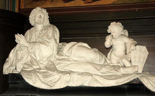 Monument funéraire de Michel Le Tellier. Pierre Mazeline et Simon Hurtelle