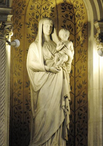 Vierge à l'Enfant. Jean Louis Nicolas Jaley.