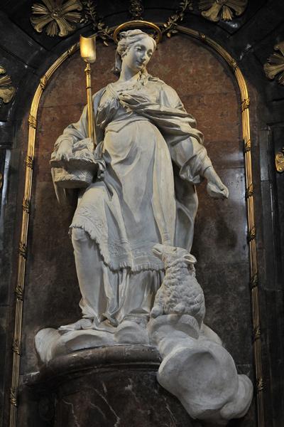 Sainte Geneviève. Charles François Ladatte.