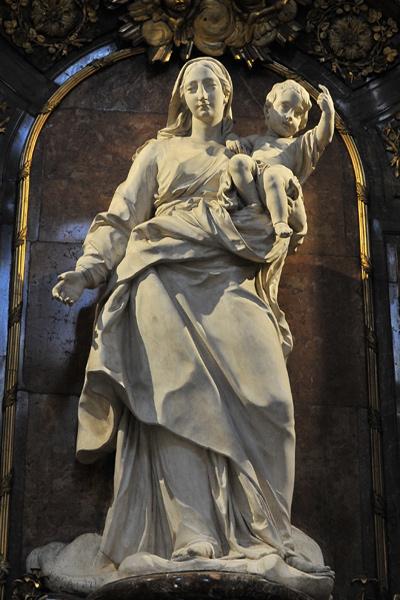 Vierge à l'Enfant. Charles François Ladatte.