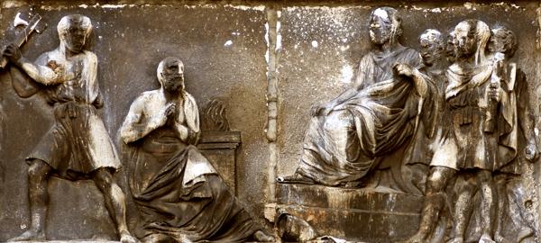 Le Martyr de Saint Just. Jean François Legendre héral.