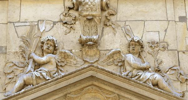 Deux anges. Nicolas Legendre.