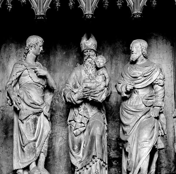 Présentation de Jésus au Temple. François Marchand.