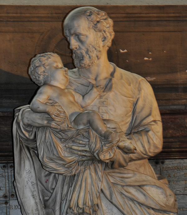 Saint Joseph. Giovanni Marchiori.