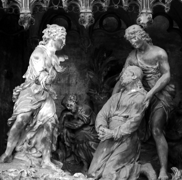 L'Agonie de Jésus. Simon Mazière.