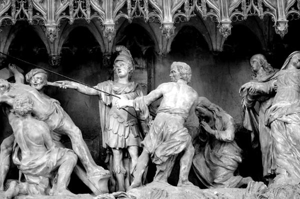 La Crucifixion. Simon Mazière.