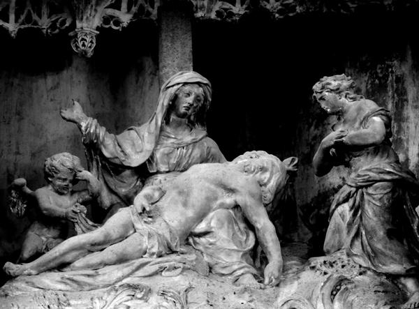 La Descente de croix. Simon Mazière.