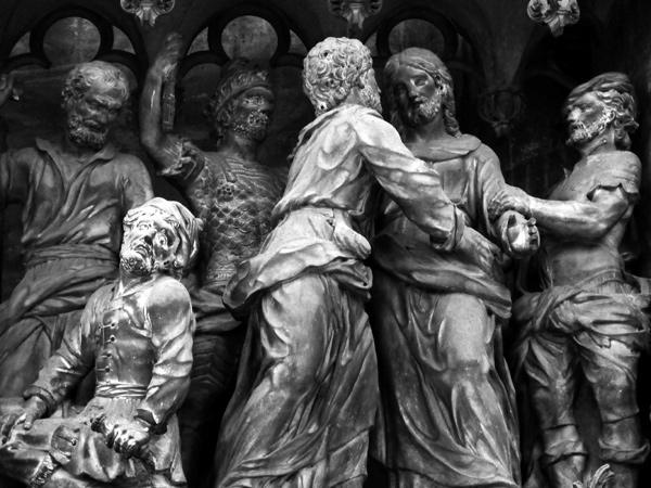 La Trahison de Judas. Simon Mazière.