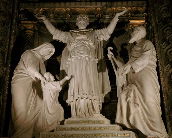 Marie au Temple.Paul Emile Millefaut.