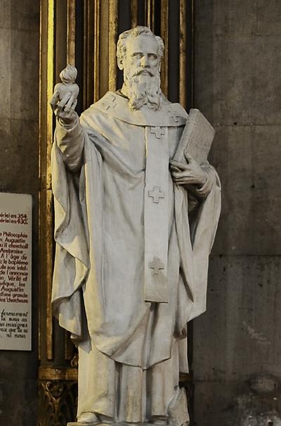 Saint Augustin. Louis Noël.