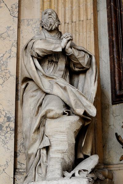 Saint François de Sales. Augustin Pajou.