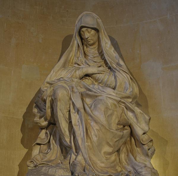La Vierge de douleur. Germain Pilon.