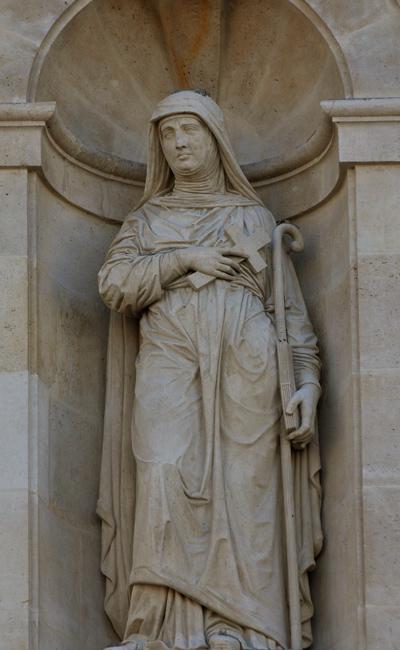 Sainte Catherine. Antoine Auguste Préault.