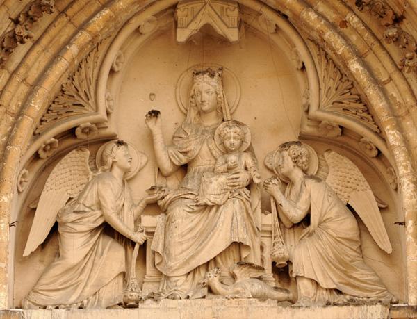 Vierge à l'Enfant. Joseph Marius Ramus