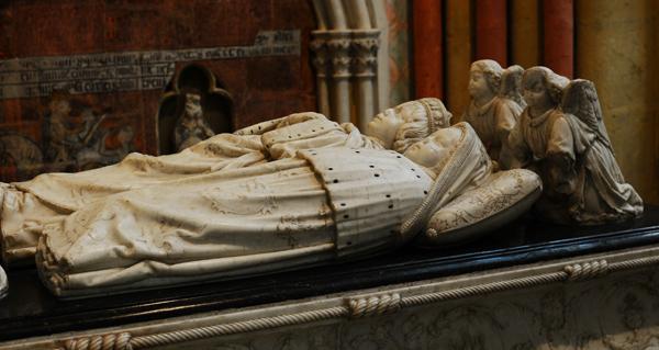 Gisant de Charles VIII. Guillaume Régnault