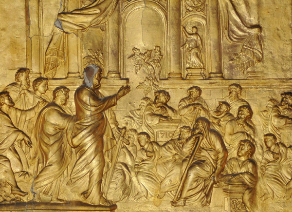 Saint Paul prêchant à Athènes. Joseph Romagnesi.