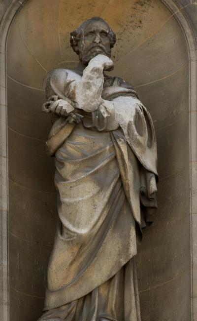 Saint Pierre. Justin Sanson.