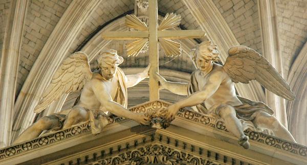 Deux anges. Jacques Sarrazin.