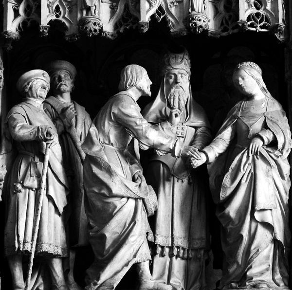 Le mariage de la Vierge et de saint Joseph. Jean Soulas.