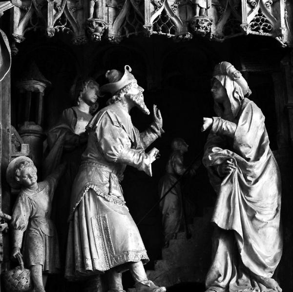 La Vierge est présentée au Temple. Jean Soulas.