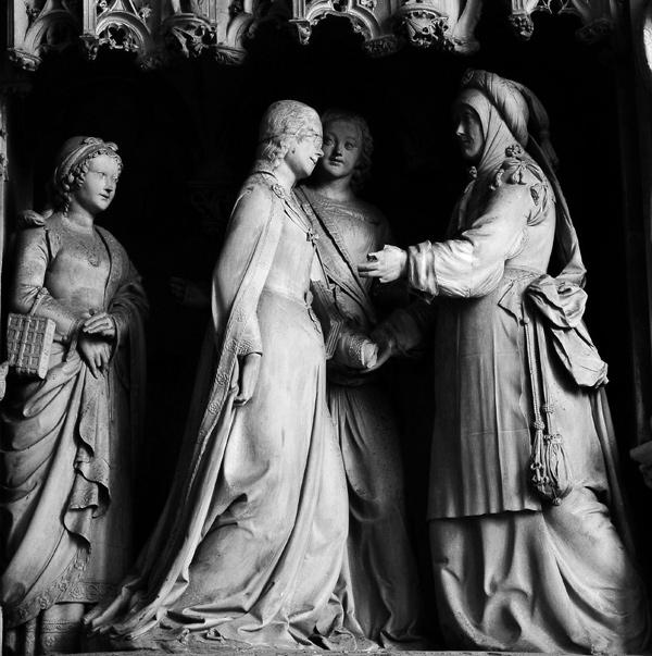 La Visitation de la Vierge à Elisabeth. Jean Soulas