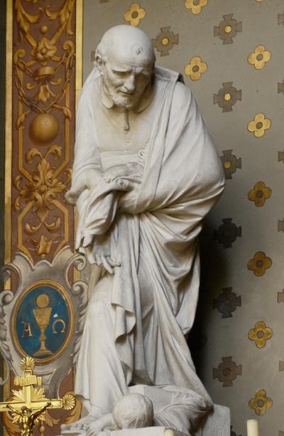 Saint Vincent de Paul. Jean Baptiste Stouf.