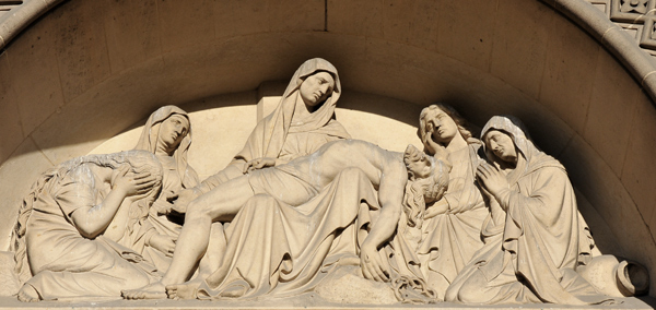 La Descente de la Croix. Joseph Tournois.