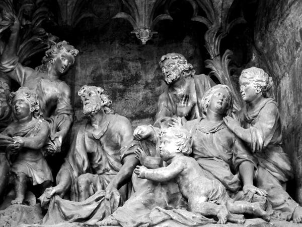L'entrée de Jésus à Jérusalem. Jean Tuby.