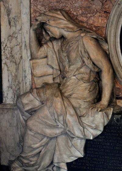 Tombeau de Le Brun. Justice. Jean Baptiste Tuby.