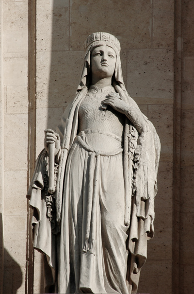 Sainte Geneviève. Eugène Antoine Aizelin.