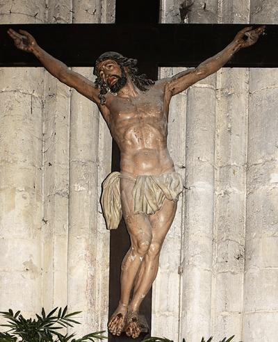 Christ en Croix. Anonyme.