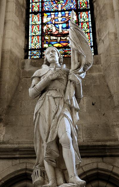 Jeanne d'Arc. Anonyme.