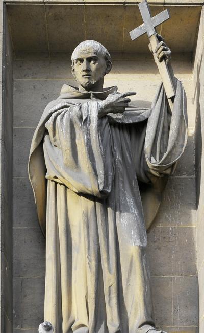 Saint Bernard. Honoré Husson.