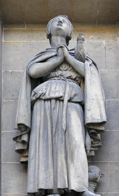 Sainte Geneviève. Auguste Debay.